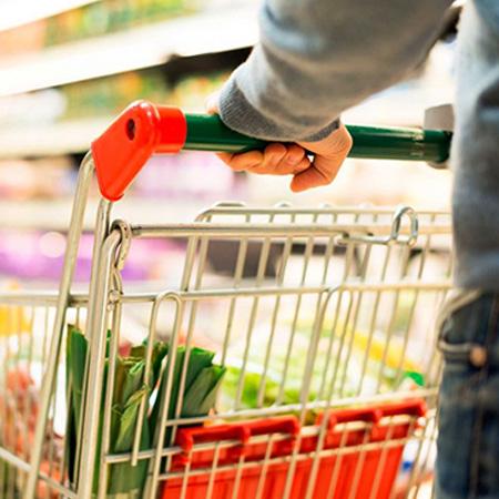 超市用全降解蔬菜水果平口袋